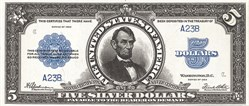 Silver -Certificate -Porthole -Note