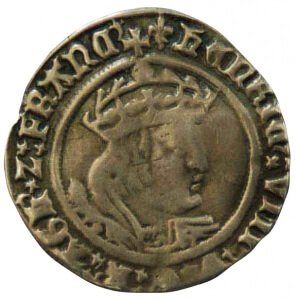 medieval copper coin