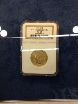 n.g.c. graded gold coin