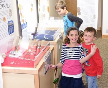 young numismatists at the money museum