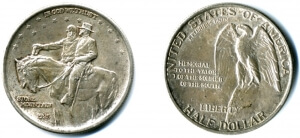 stone mountain commemorative half dollar obverse