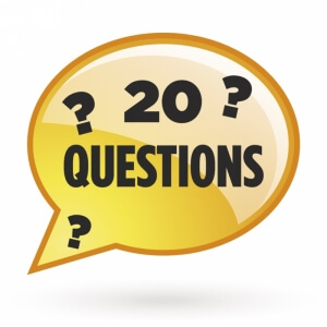 20 questions graphic