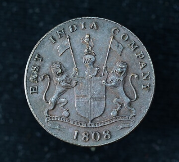 1808 east india company coin