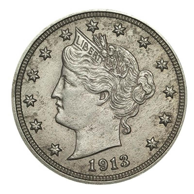 1913 v nickel obverse