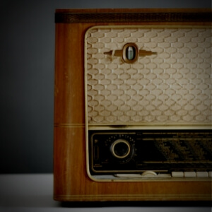 old stereo