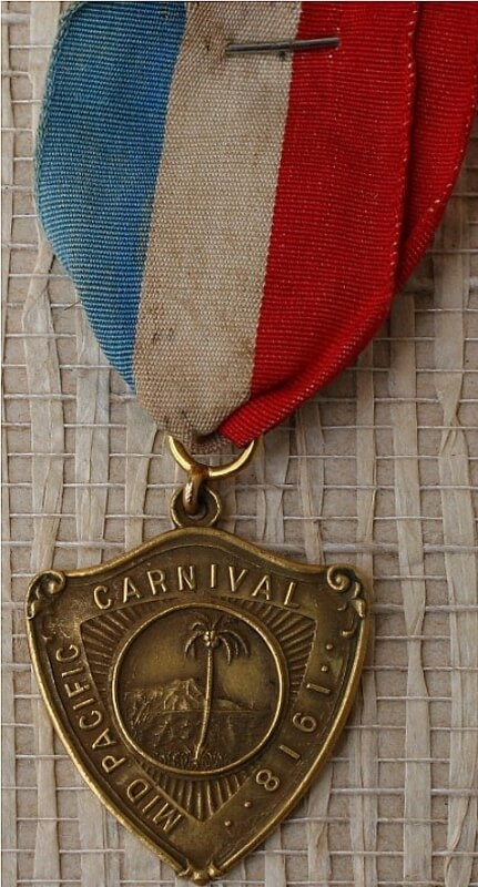 1918 Mid-Pacific Carnival Gold Medal