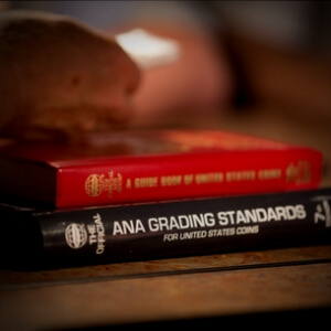 red book and a.n.a. grading standards book