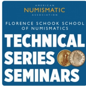 ana numismatic seminars graphic