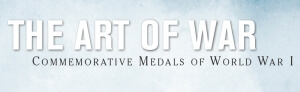 the art of war: commemorative medals of world war one graphic