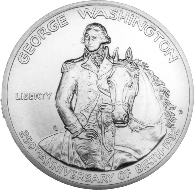 american numismatic association 1945 Double Die Nickel ge e washington memorative coin