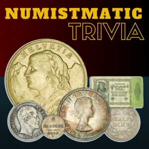 numismatic trivia graphic