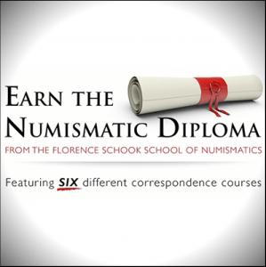 earn the numismatic diploma graphic