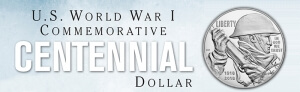u.s. world war one commemorative centennial dollar graphic