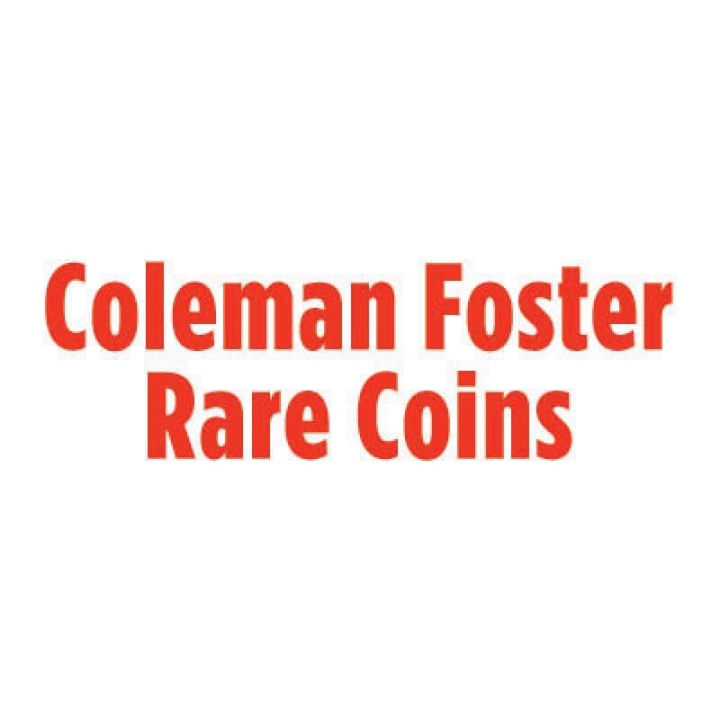 coleman foster rare coins logo