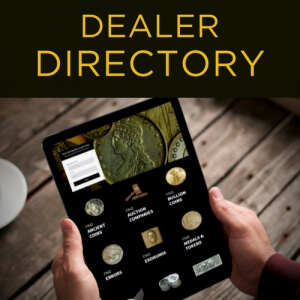 COIN DEALER DIRECTORY HOME PAGE GRAPHIC