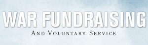 war fundraising and voluntary service