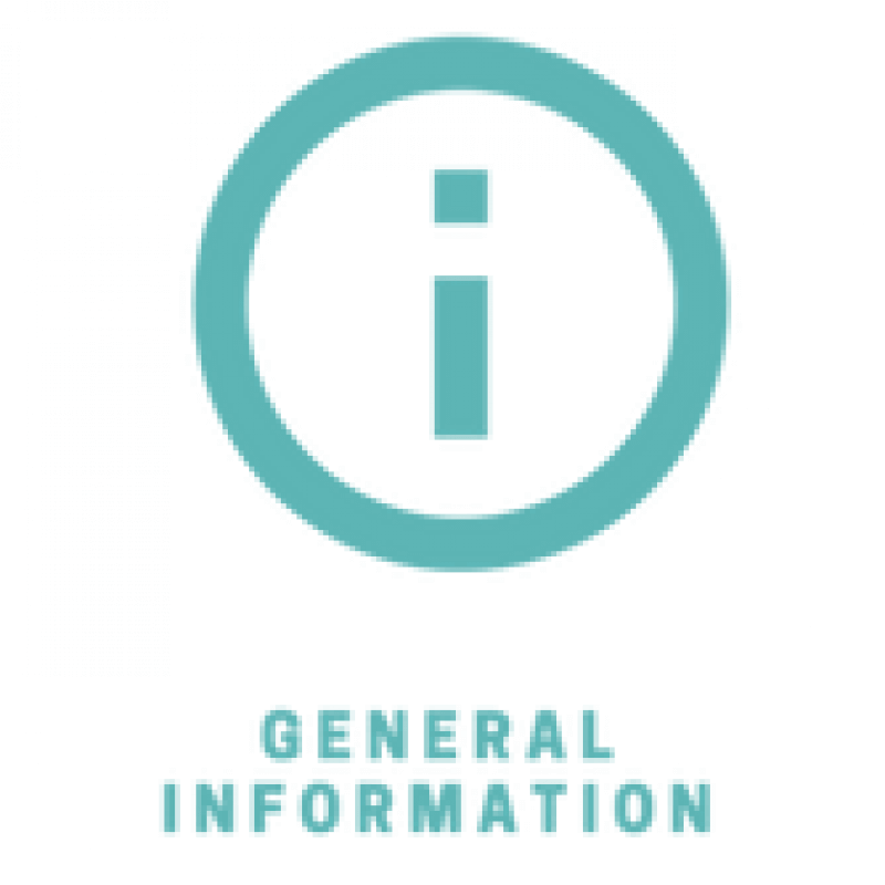 general info icon light blue