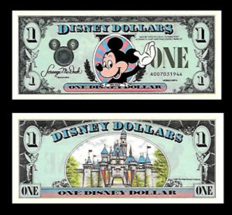 Disney Cinderella Million Dollar Bill