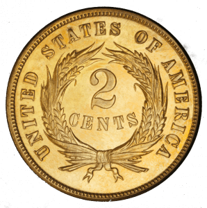 2 cent us coin