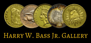 bass gold coin exhibit