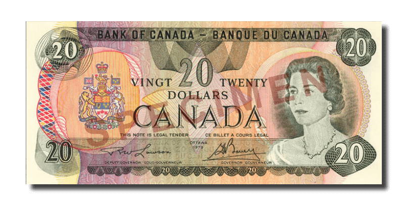 canadian bank note