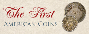 the first american coins graphic