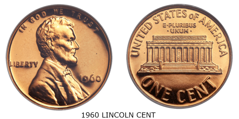 1960 lincoln cent