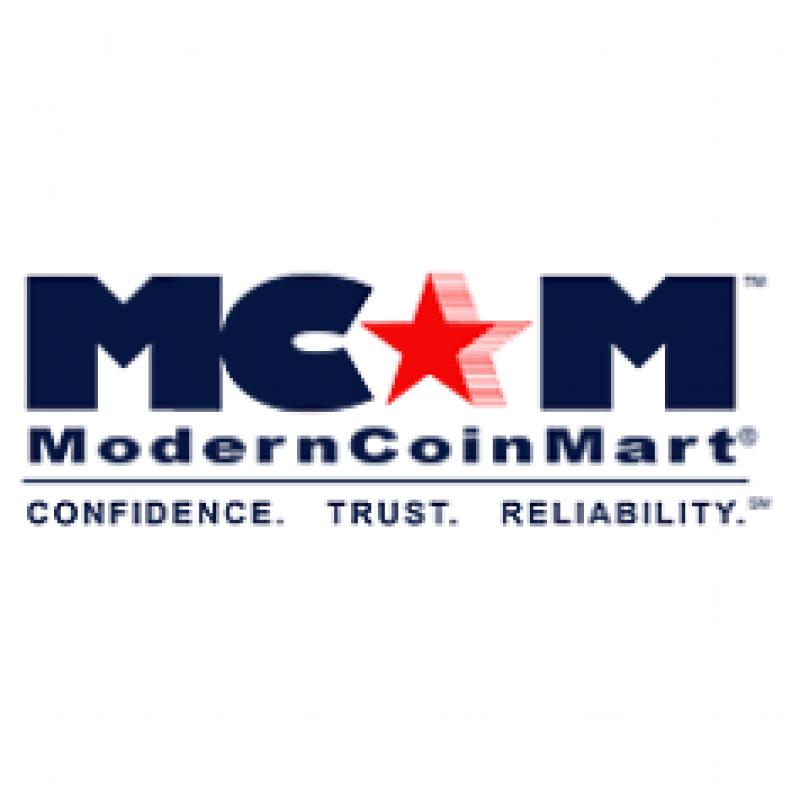 modern coin mart logo