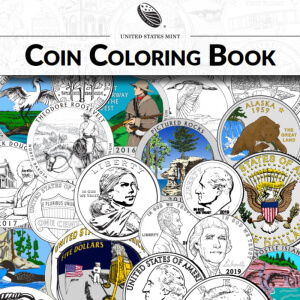 us mint coloring book cover
