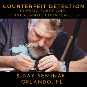 counterfiet detection fun seminar