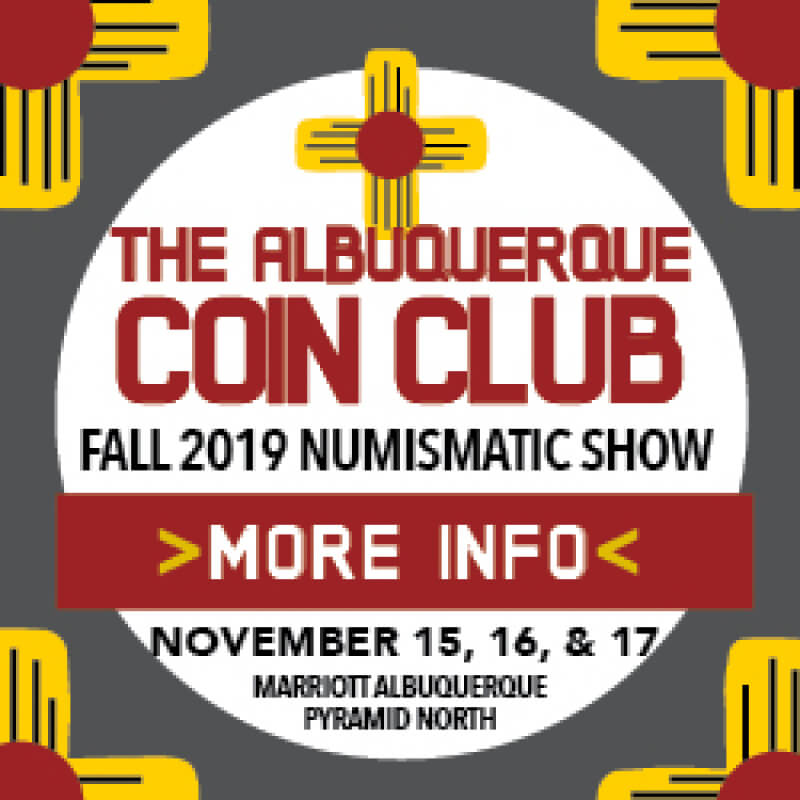 albuquerque coin club show