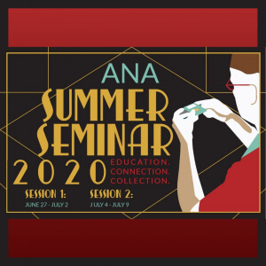 2020 summer seminar square logo border