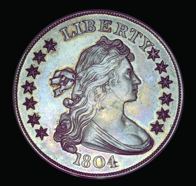 1804 liberty dollar obverse