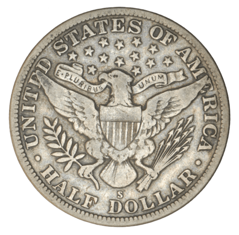 american eagle coin reverse
