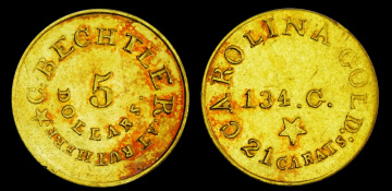 territorial gold coins