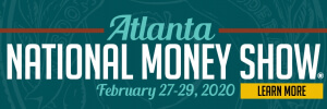 2020 national money show banner with cta