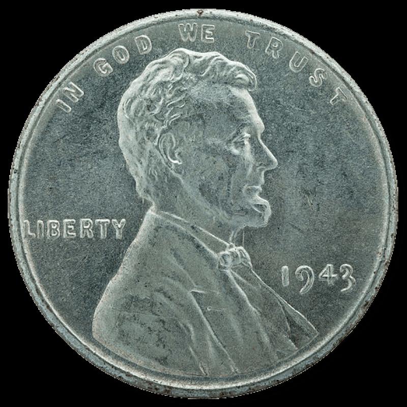 1943 STEEL CENT OBVERSE