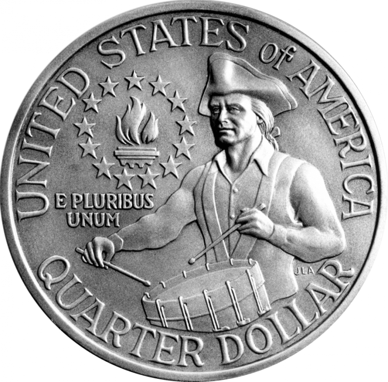 1976 bicentennial quarter
