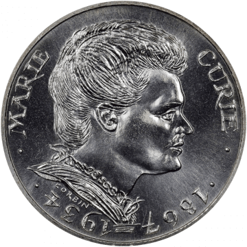 Curie Coin Obverse