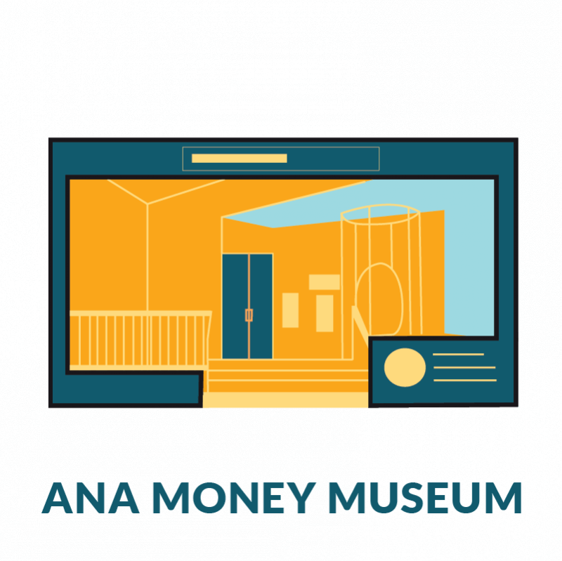 money museum button