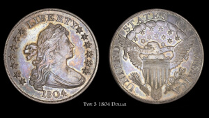 1804 dollar obverse and reverse