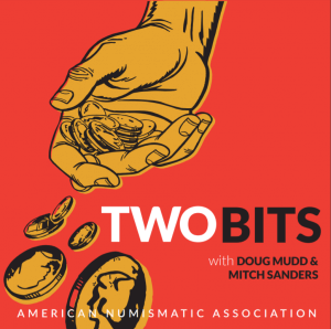 two bits podcast logo with branding.
