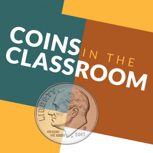 coins in the classroom logo