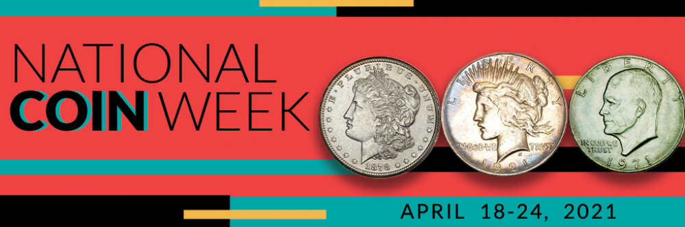 national coin week banner