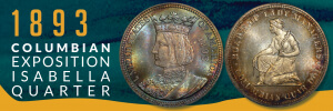 1893 columbian exposition isabella Banner