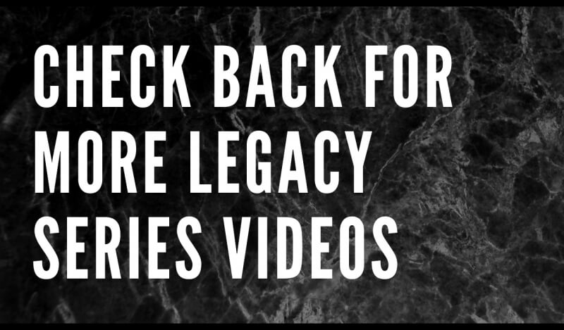 legacy video check back