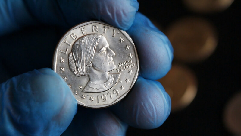 Nice Susan B. Anthony from a customer wrapped roll 2020