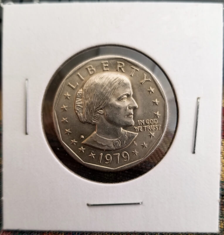 Very nice 1979 Susan B. Anthony Dollar from a customer wrapped roll 2020