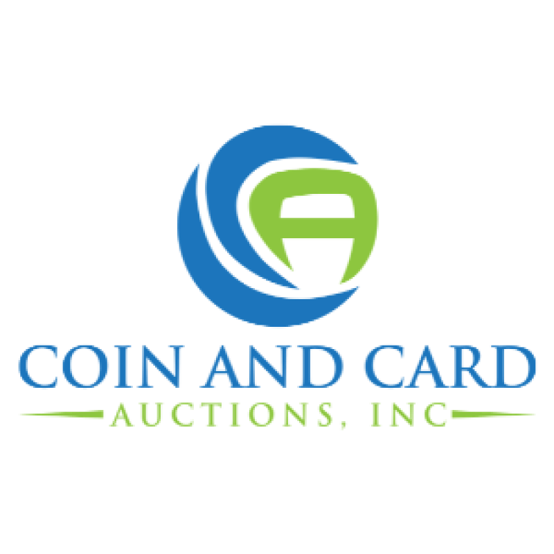 coin and card auctions logo