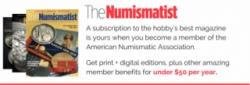 The Numismatist Magazine Subscription Banner